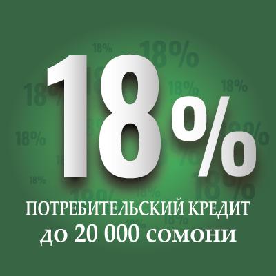Акция 18%