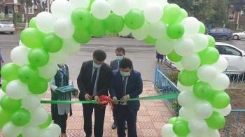 Открытие нового ЦБО в райцентре Фархора.